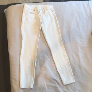 Lilly Pultizer White Jeans